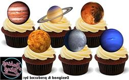 12 x Solar System Planets 6 Mix - Fun Novelty Birthday PREMI