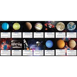 Creative Converting Space Blast Fact Card Party Favors