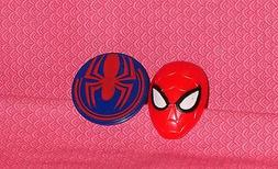 Spider-Man Ultimate Plastic Cupcake Rings,12 ct.,Red/Blue,De
