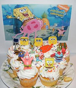 SpongeBob and Friends Deluxe Cake Toppers Cupcake Decoration