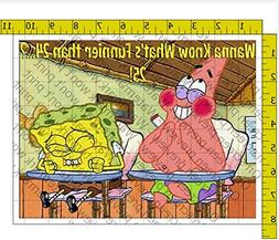 Spongebob Wanna Know What's Funnier than 24 Personalized Bir