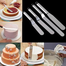 Stainless Steel Cream Cake Spatula Icing Butter Handle Knife