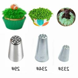 Stainless Steel Piping Pastry Cake Decorating Tip Grass Fury