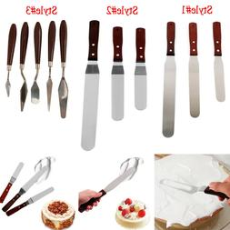 Stainless Steel Preferred Angled Spatula Cake Decorating Too