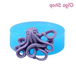 Star-Trade-Inc - Octopus Silicone Moulds Cake 32mm For Cake