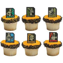 Star Wars Rebels Cupcake Rings-12 Count