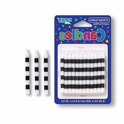 Creative Converting 12 Count Striped Birthday Cake Candles,