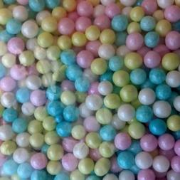 Sugar Pearls 3-4 mm Pearlized Multi, 16 Oz.