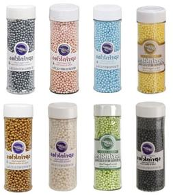 Sugar Pearls Sprinkles 5 oz from Wilton Many Colors to Choos