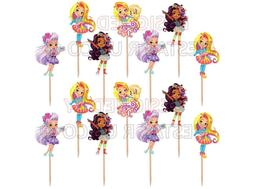 Sunny Day Cupcake Toppers 12 or 24 pc. Sunny Day Party Suppl
