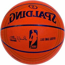 Amscan Sports and Tailgating Spalding Basketball Round Plate