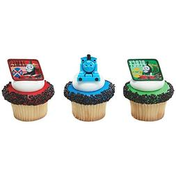 DecoPac Thomas and Friends Cupcake Rings, 12 Count