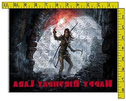 Tomb Raider Personalized Edible Frosting Image 1/4 sheet Cak