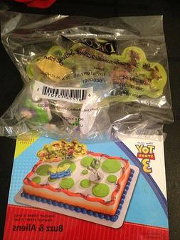 DecoPac  TOY STORY 3 BUZZ & ALIENS BIRTHDAY CAKE TOPPER DECO
