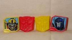 Transformers,Cupcake Party Rings,Toppers,DecoPac,Multi-Color