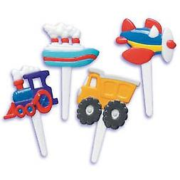Transportation Cupcake Picks 10 Piece