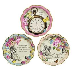 Talking Tables Truly Alice Mad Hatter Tea Party Plates for P