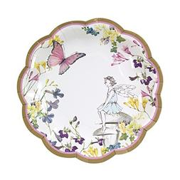 Talking Tables Fairy Party Supplies | Fairy Paper Plates | G