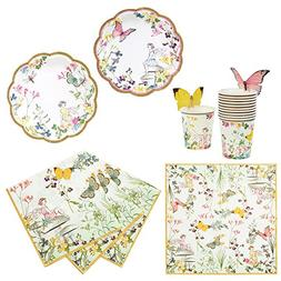 Talking Tables Truly Fairy Party Bundle | Designer Plates, N