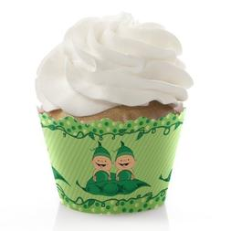Twins Two Peas in a Pod - Baby Shower or Birthday Party Deco