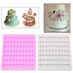 US Silicone Pearls Necklace Fondant Mold Cake Cupcake Decora