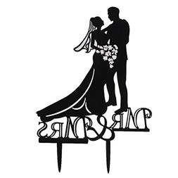 wedding cakes Toppers - Tinksky Acrylic Wedding Cake Topper