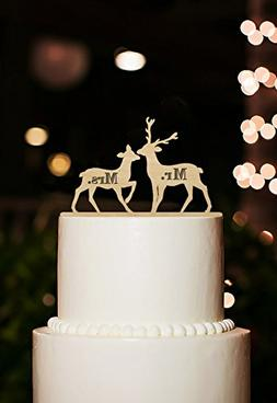 Wedding Cake Topper Engraved Mr Mrs Cake Topper Mr Mrs Weddi