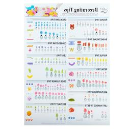 Wilton Icing Tips Poster Cake Decorating Supplies New Assort