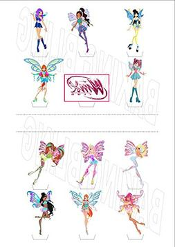 12 x Winx Club Party Pack 12 - Fun Novelty Birthday PREMIUM