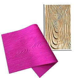 Youzpin Woodgrain Fondant Impression Mat Cake Decoration Too