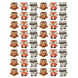 Woodland Animal Friends Cupcake Rings by Bakery Supplies