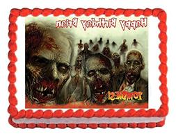 Unbranded* Zombies edible party cake topper decoration cake